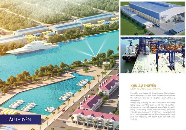 Tiện ích vượt trội dự án Royal Riverside City Móng Cái