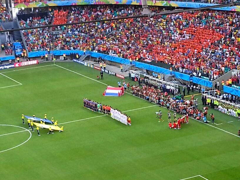 Espanha X Holanda - Arena Fonte Nova Salvador - Bahia - Copa do Mundo Brasil 2014