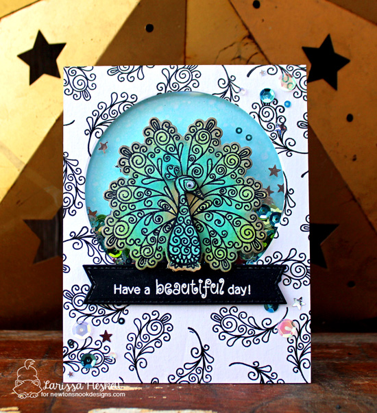 Have a Beautiful Day Card by Larissa Heskett | Beautiful Plumage Stamp Set by Newton's Nook Designs #newtonsnook #handmade