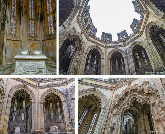 Capelas imperfeitas, Mosteiro de Batalha, Portugal