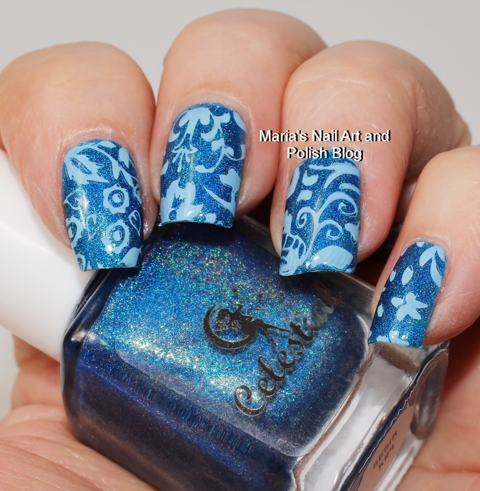 Wandfarbe Majorelle Blau 7: Marias Nail Art And Polish Blog: Curali Stamping Plates Review