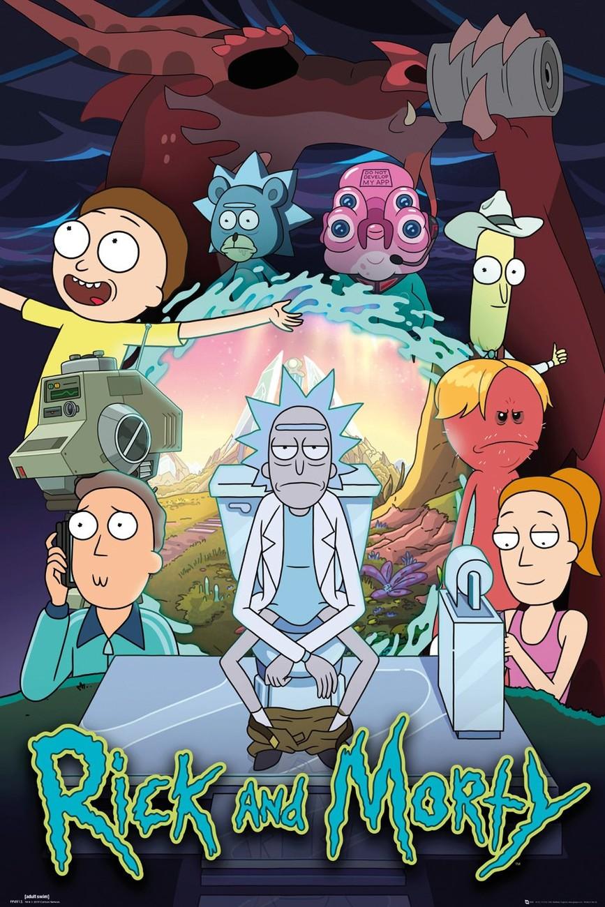 Rick and Morty 4×9 Subtitulado 720p