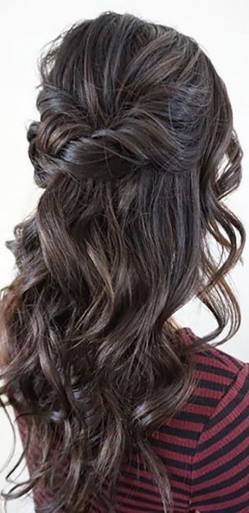 37 Pretty Wedding Hairstyles For Brides With Long Hair: Trend Fashionist: 36 Beautiful Bridal Hairstyles Ideas For