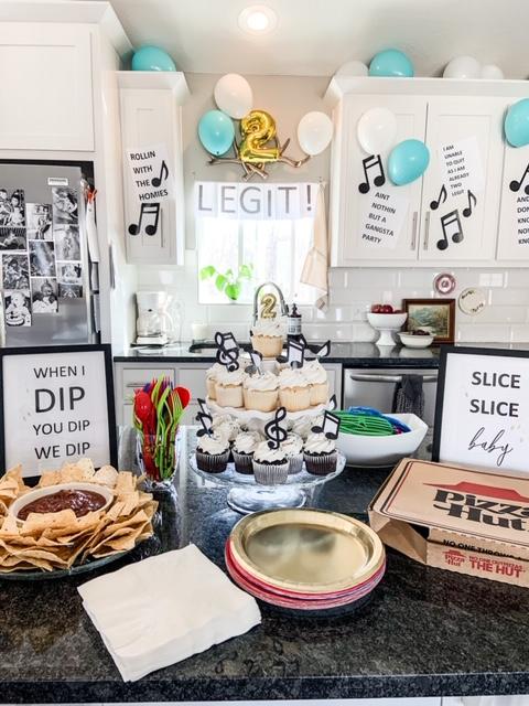 2 legit 2 quit birthday party decoration ideas