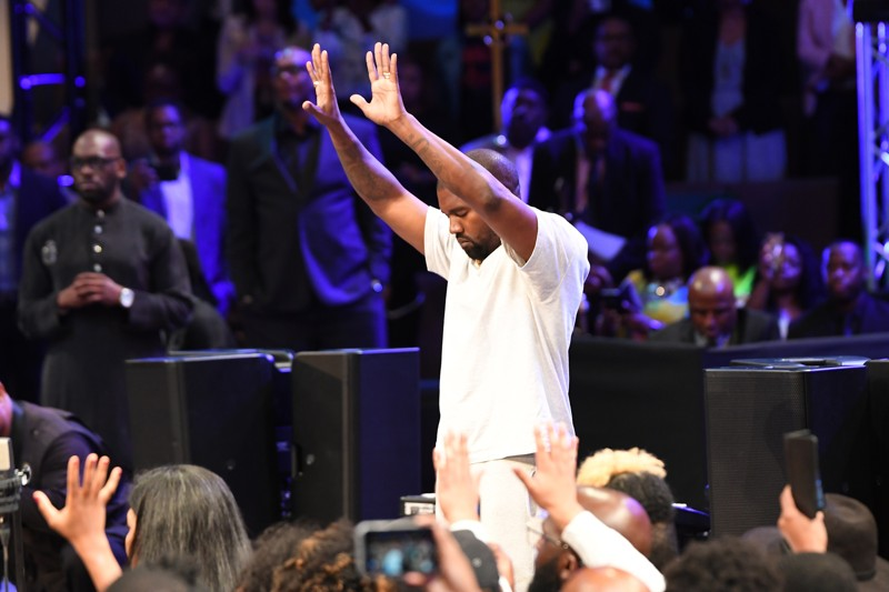 Born Again Kanye West Brings 'Sunday Service' To Atlanta