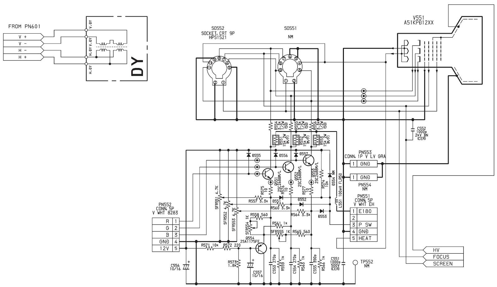 samsung tv circuit board schematic