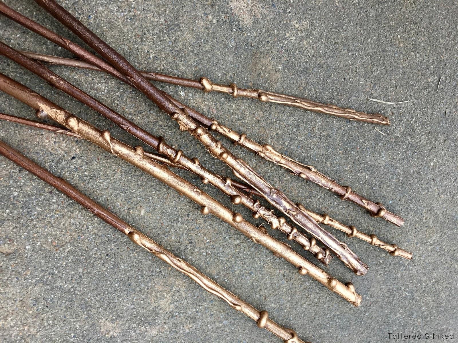 Metallic look wand verschiedene ideen f r for Wand designs