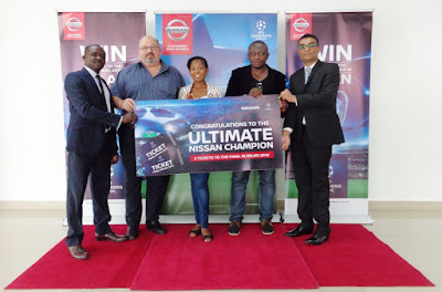 Winners Emerge in Nissan/UEFA Champions Bonanza