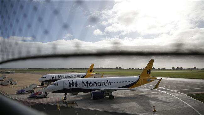 110,000 Britons stranded abroad as UK's Monarch Airline collapses