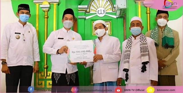 Masjid Wali Al - Ma'mur Jepang Menerima Hibah Dari Plt. Bupati Kudus