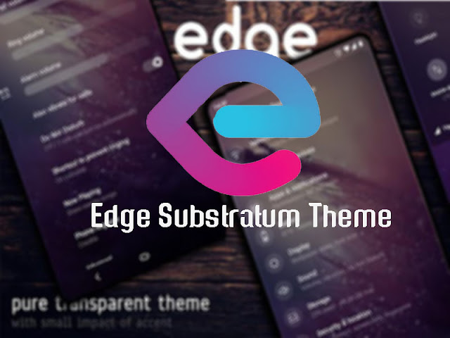 Introducing Edge Substratum Theme Apk: Material design the way it should be.