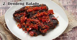 Dendeng Balado merupakan salah satu ide menu olahan dari daging kurban khas orang Indonesia