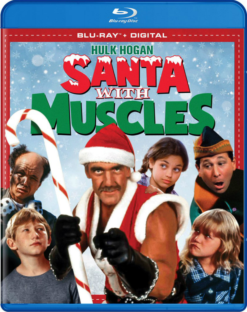 santa with muscles bluray