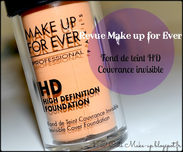 fond de teint HD Make up for ever