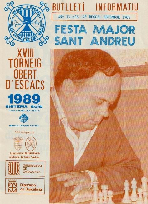 Butlletí Informatiu del C. C. Sant Andreu, septiembre de 1989