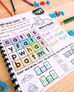 Phonics Printables and Progress Monitoring The Kinderhearted Classroom