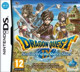 Rom Dragon Quest IX Sentinels Of the Starry Skies NDS