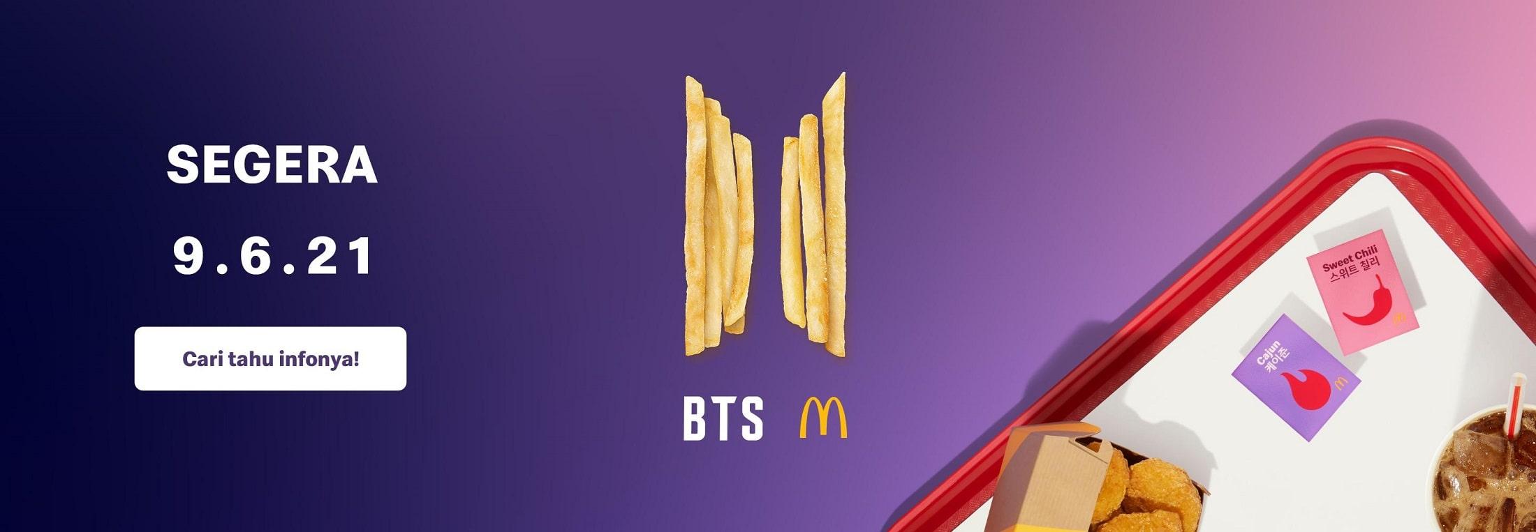 BTS Meal McDonalds Rilis 9 Juni 2021