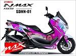 Decal ALL NEW NMAX 2020 Littel Poni  SDNN-01
