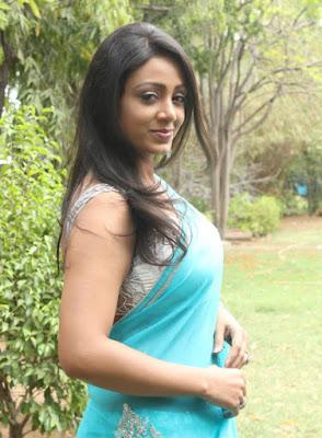 Idhaya Eden actress in saree pics