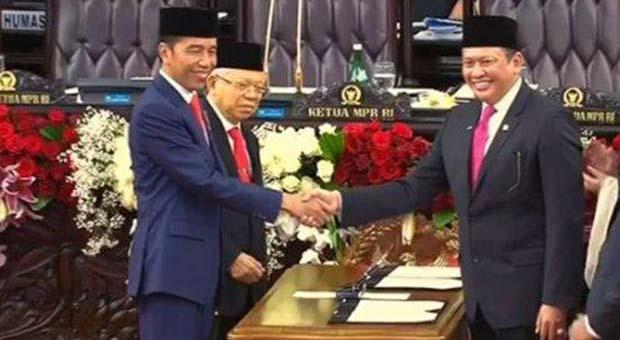 Jokowi-Ma'ruf Amin Resmi Jadi Presiden Dan Wakil Presiden RI
