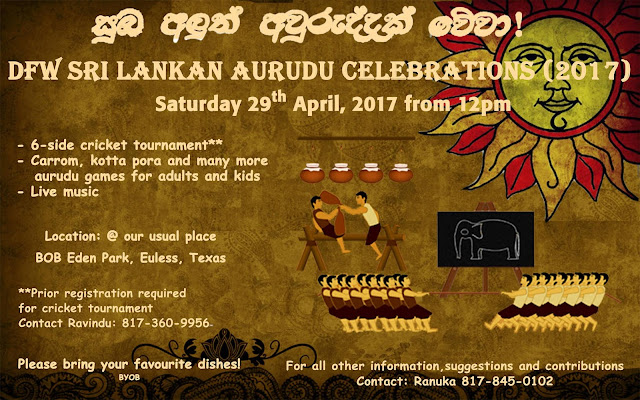 DFW Sri Lankan New Year Celebrations 2017 on Facebook