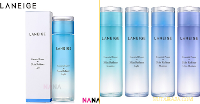 Essential Power Skin Refiner Light LANEIGE - Manfaat Dan Perbedaan Dari Skin Refiner Light dan Facial Treatment Clear Lotion Serta Cara Pakainya