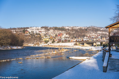 Szczawnica, most na Dunajcu