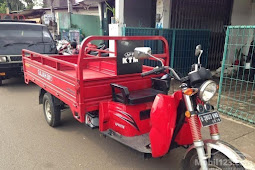 Motor Roda Tiga APPKTM Gajah Diesel 500cc