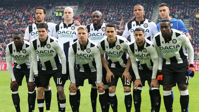 Jadwal Skuad Udinese 2020