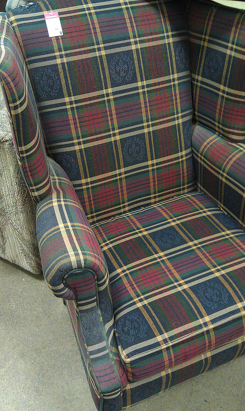 Focal Point Styling Thrift For Fall Still Mad For Plaid