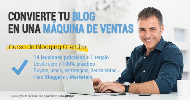 """Curso iniciaBlog """"Convierte tu blog en una máquina de ventas"""""""