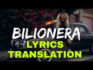 Bilioneralyrics Meaning in Hindi (हिंदी) - Otilia