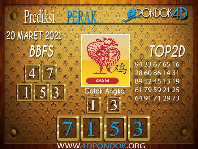 Prediksi Togel PERAK PONDOK4D 20 MARET 2021