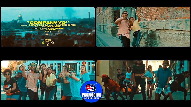 CompanyYo - ¨Forma tu película¨ - Videoclip - Dirección: CYO. Portal Del Vídeo Clip Cubano. Música cubana. Hip Hop. Rap. Cuba.