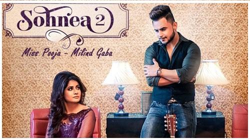 Sohnea 2 Lyrics with english meaning - Miss Poja | Milind Gaba