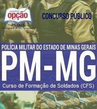 Apostila concurso Polícia Militar-MG CFSd 2017 para o curso de Formação de Soldados PM MG.