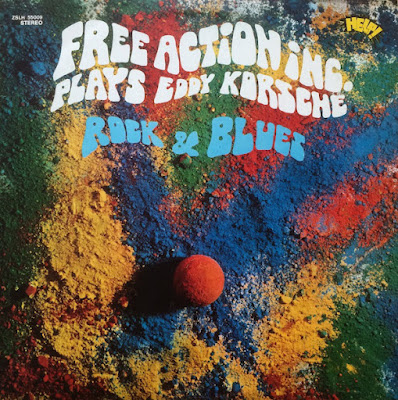 Musica serie 33 giri : Free Action Inc. – Plays Eddy Korsche – Rock & Blues (1970)