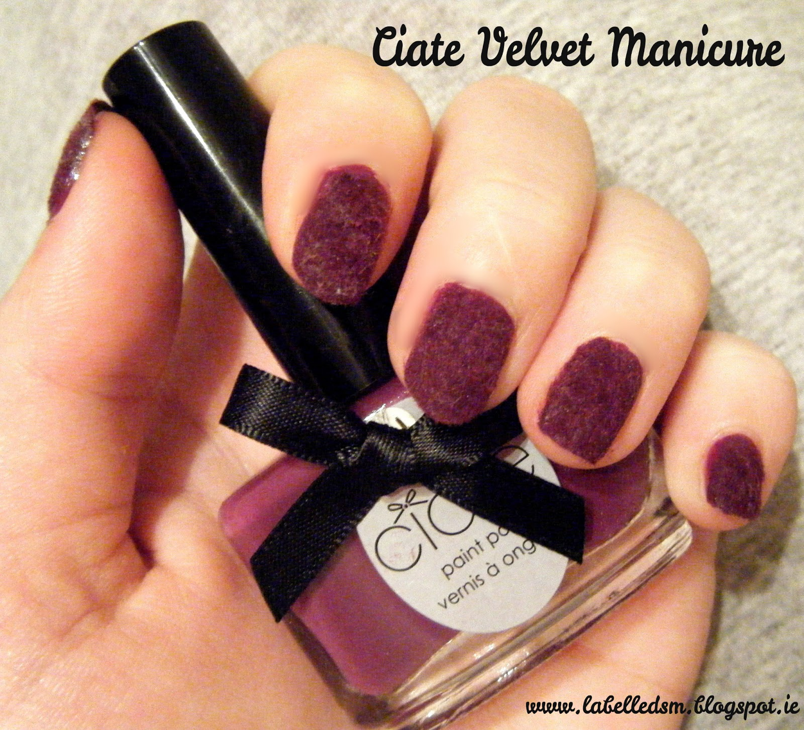 Ciate Nail Polish Remover: Nails Of The Day - Ciaté Velvet Manicure ♥