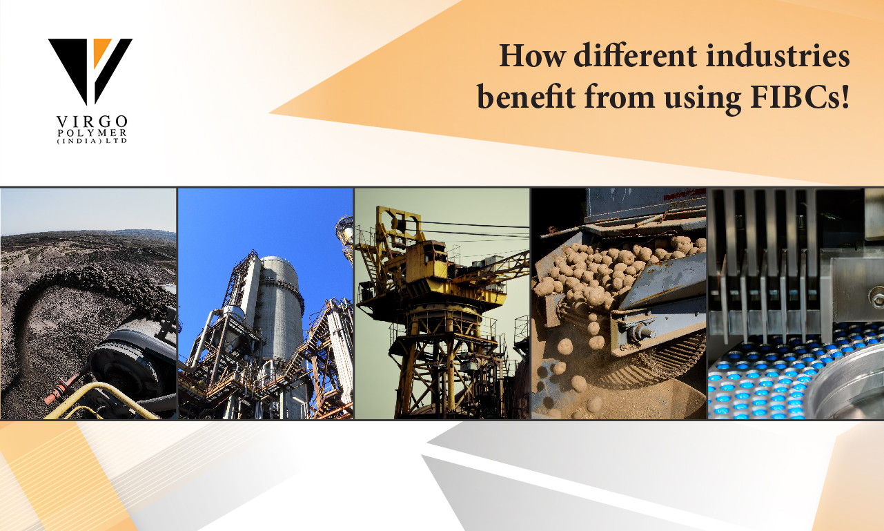How different industries benefit from using FIBCs!