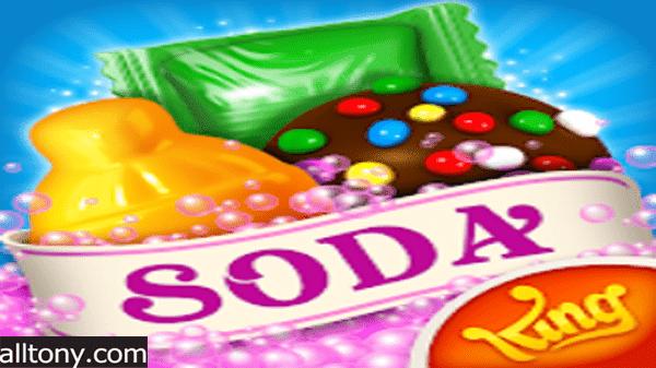 تحميل لعبة كاندي كراش صودا ساغا Candy Crush Soda Saga  للأيفون والأندرويد