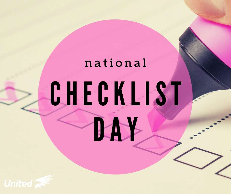 National Checklist Day Wishes Images download