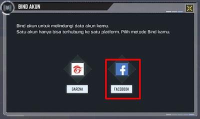 Untuk mengaitkan akun COD ke Facebook