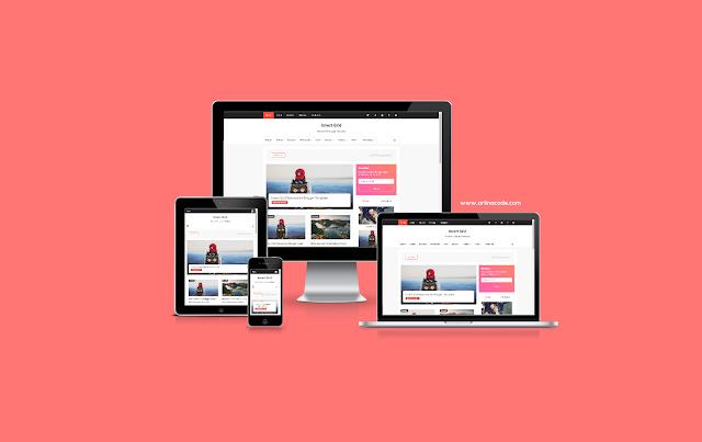 Invert Grid Full Free Blogger Template