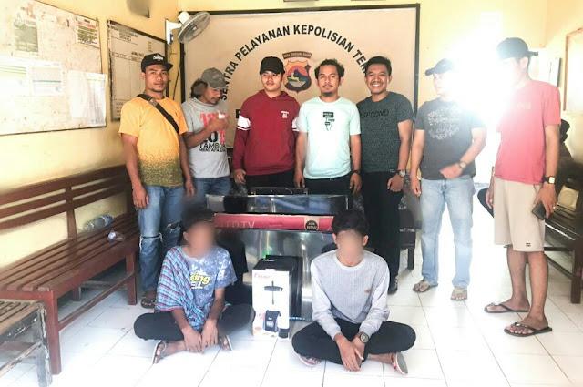 Bobol toko, dua pelajar ditangkap Tim PUMA Polres Dompu