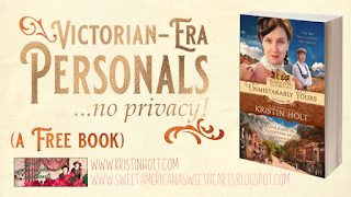 Kristin Holt | Victorian-era Personals... no privacy!