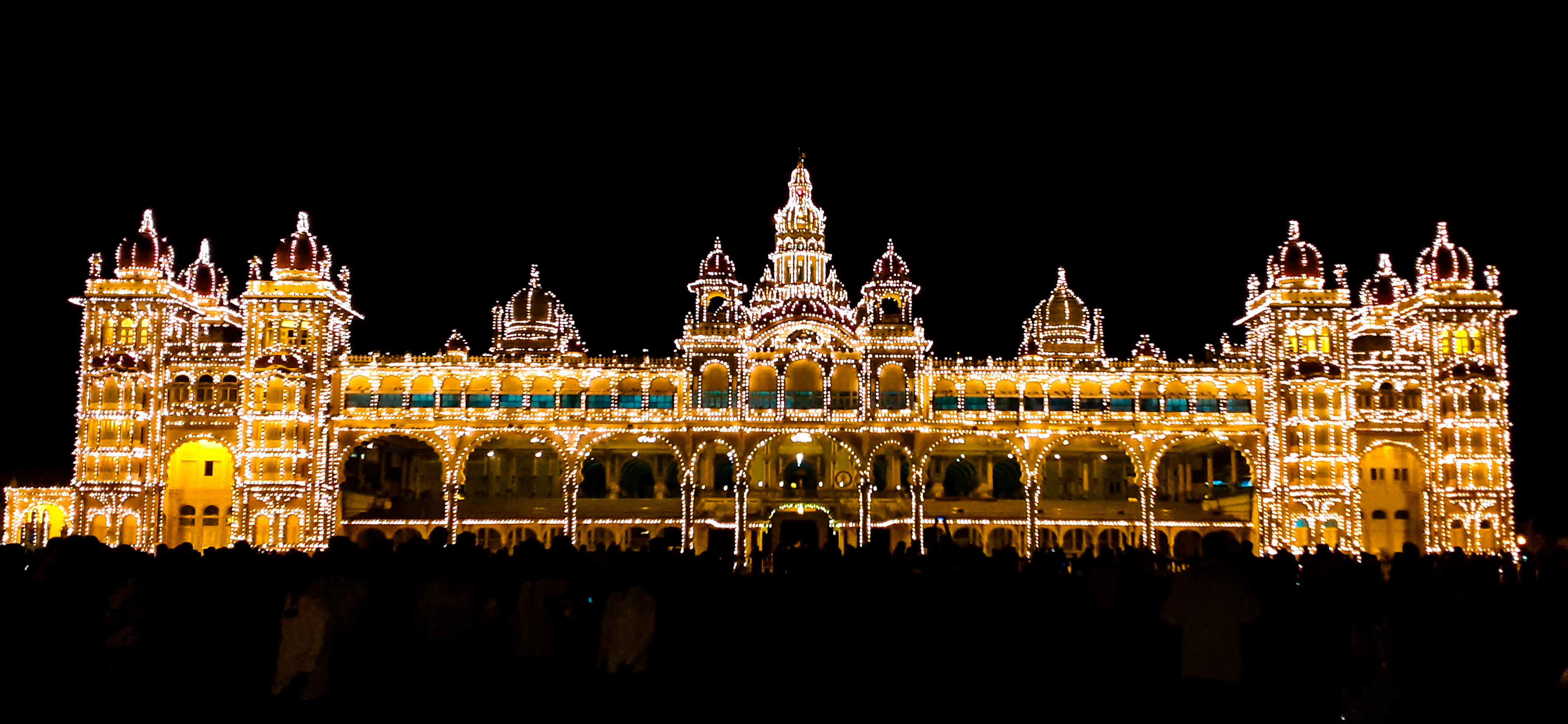 the splendor of mysore palace
