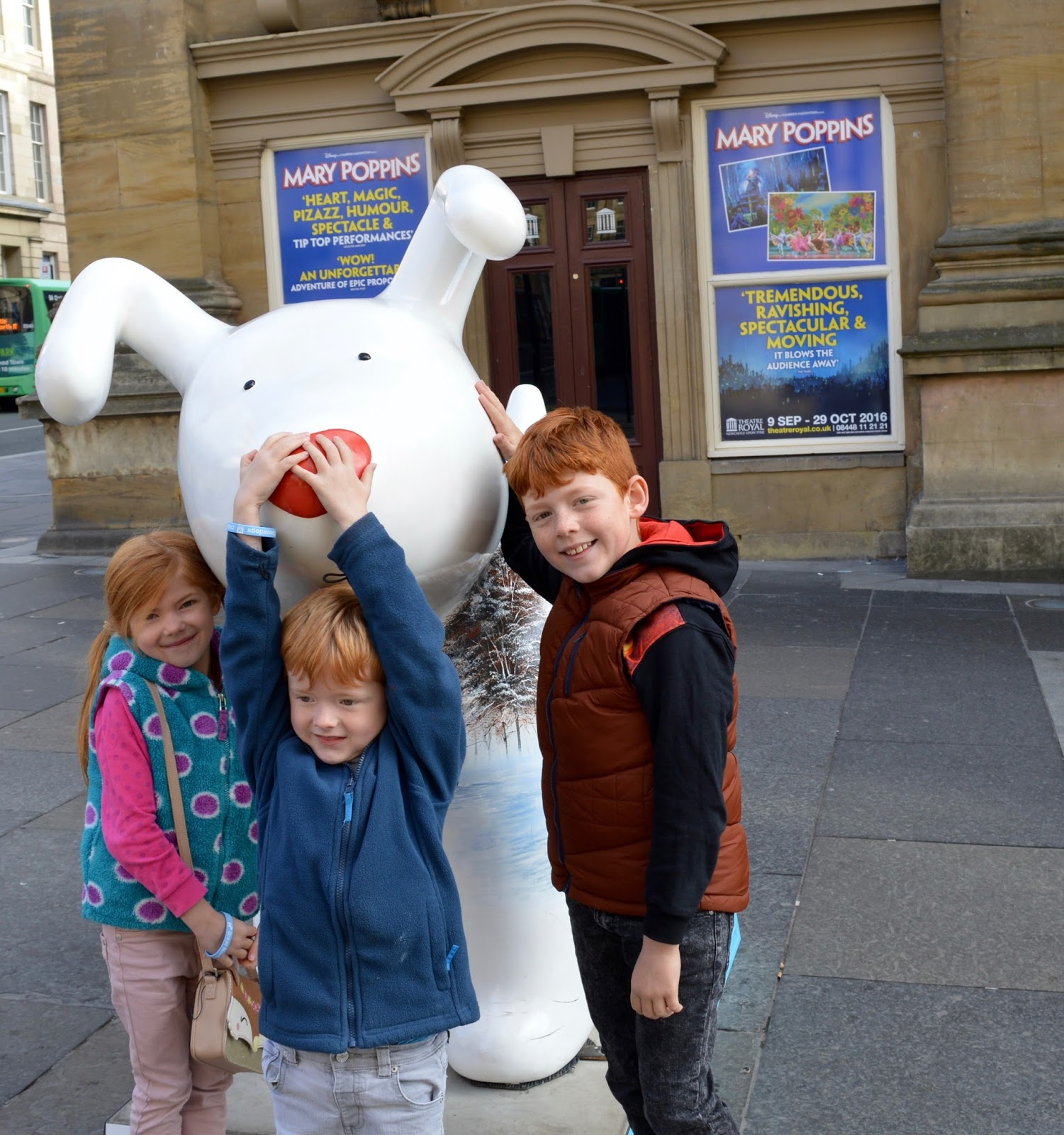 Explore the Great North Snowdogs with Tyne and Wear Metro - Arthur on Grey Street (sponsored by Sanderson& Young)