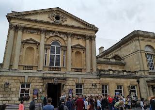 Baños Romanos o Termas Romanas de Bath.