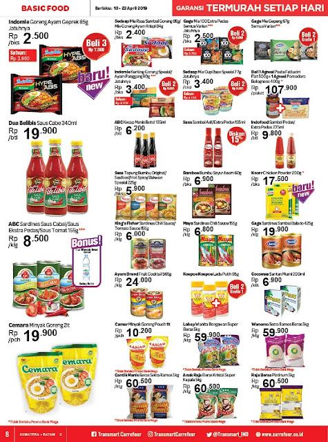 Katalog Promo Transmart Carrefour Sumatera Batam Terbaru 2019